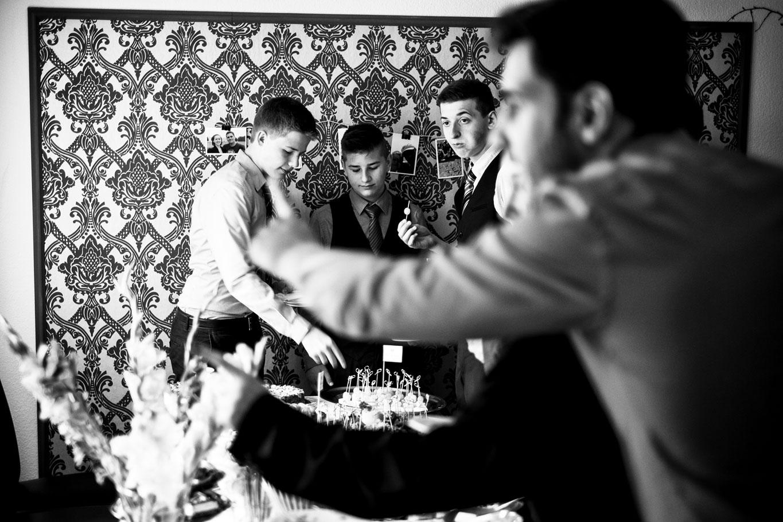 Hochzeitsfoto während einer ruhigen Minute - Hochzeitsfotograf Bremen